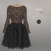 BEO - Angelica short gown BLACK