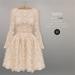 BEO - Angelica short gown BEIGE