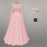 BEO - Angelica long gown ROSE