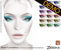 Zibska ~ Mariel Eyemakeup for Lelutka HD Demo