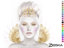 Zibska ~ Mies Color Change Headpiece and Shoulders
