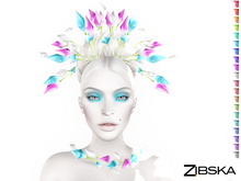 Zibska ~ Gabrielle Color Change Headpiece and Adornment