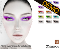 Zibska ~ Alene Eyemakeup for Lelutka HD Demo