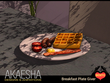 [Bento Catering & Party Foods] Breakfast Plate Giver