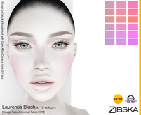 Zibska ~ Laurentia Blush in 18 colors with omega applier, tattoo and universal tattoo BOM layers