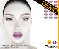 Zibska ~ Laurentia Lips Demo [omega applier/tattoo/universal tattoo BOM]