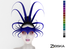 Zibska ~ Dani Color Change Headpiece and Brow