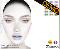 Zibska ~ Dani Lips Demo [omega applier/tattoo/universal tattoo BOM]