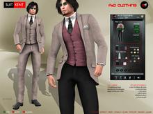 A&D Clothing - Suit -Kent- Mink