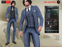 A&D Clothing - Suit -Kent- Navy