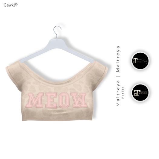 "GAWK! ""Diana"" Shirt BEIGE   for Maitreya   Maitreya Petite"