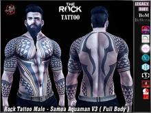 [ HUD ] Male Tattoo Applier - Samoa Aquaman V3 ( Full Body )