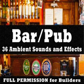 # 36 Full Perm Bar/Pub Ambient Sound + Menu Sounds Sequences