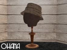 Ohana Bucket Hat Tweed Brown (WEAR TO UNPACK)