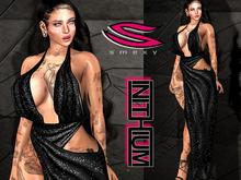 ::Smexy:: Kupra Drapey Dress BLACK