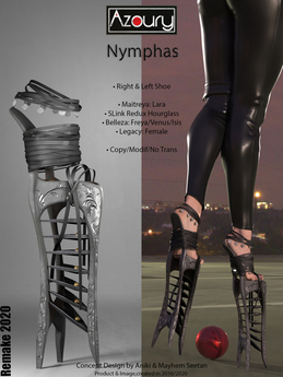 [DEMO] AZOURY - Nymphas Shoe [REMAKE 2020]