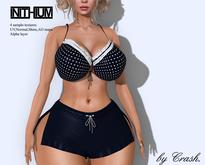 byCrash Full perm mesh-Shorts and bra KUPRA ONLY