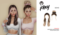 Foxy - Echo Hair (Grayscale)