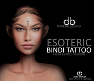 db. Esoteric Bindi Tattoo_BoM/Omega (Lelutka&Genus)