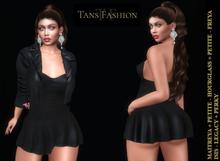 *-*Tans*-* 3r Dress Ensemble (dress + jacket)