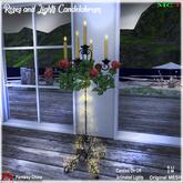 FCBTS - Mesh Roses and Lights Candelabrum CB