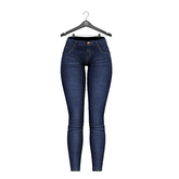 Little Fox - Skinny low jeans // ocean