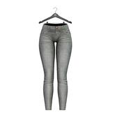 Little Fox - Skinny low jeans // light grey