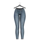 Little Fox - Skinny low jeans // faded