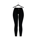 Little Fox - Skinny low jeans // black