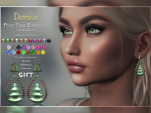 [Dreamlight] Pine Tree Earrings - Gift