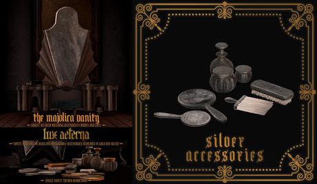 + LUX AETERNA [The Majolica Vanity] Accessories SILVER