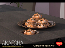 [Bento Catering & Party Foods] Cinnamon Roll Giver Breakfast