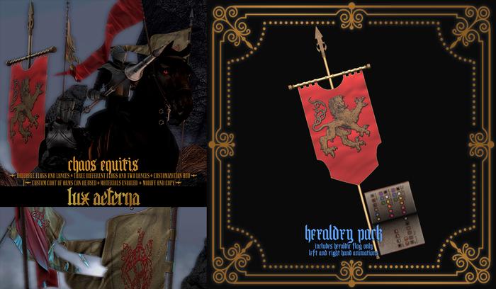 + LUX AETERNA [Chaos Equitis] HERALDRY PACK