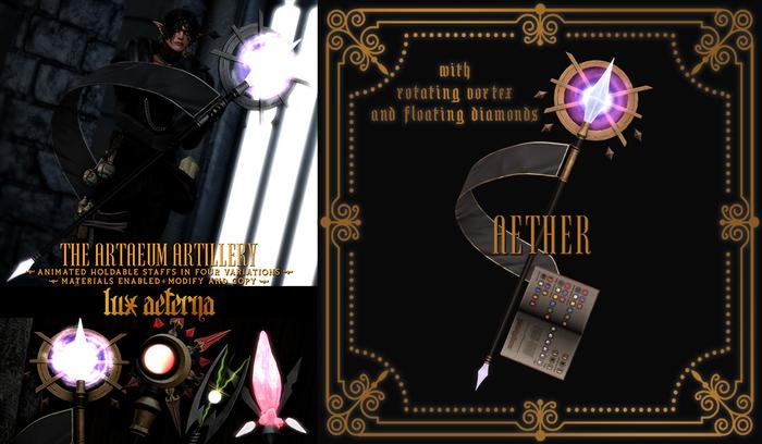 + LUX AETERNA [The Artaeum Artillery] AETHER