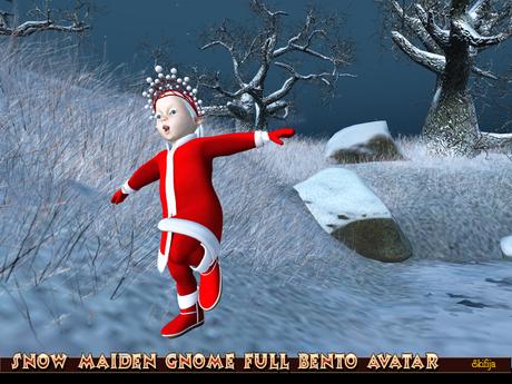 !Skifija Snow Maiden Gnome Full Bento Avatar v.0.1