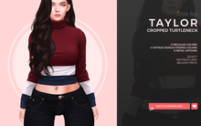 Little Fox - Taylor cropped turtleneck // ALL COLORS