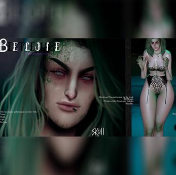 Sköll - Beetlejuice face&bodypaint