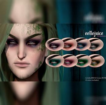 Sköll - Beetlejuice Eyeshadows