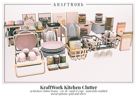 KraftWork Kitchen Clutter (Add Me)