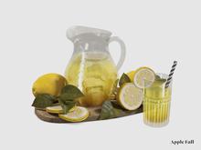 Apple Fall Lemonade Pitcher