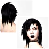 VC - short black Hair Unisex