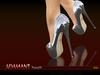 -SKIFIJA-ADAMANT heels (multicolor)