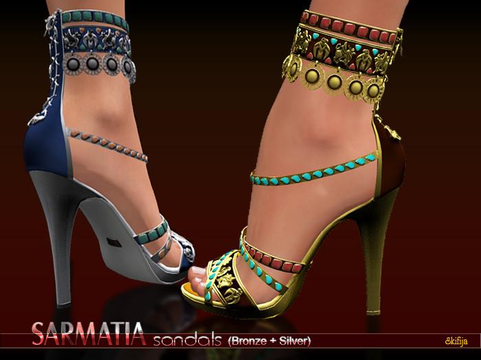 !DEMO-SKIFIJA- Sarmatia Heels(Bronze+Silver)