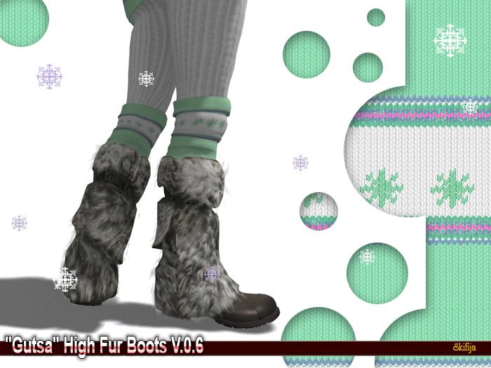 "-SKIFIJA- ""Gutsa"" High Fur Boots v.0.6 Lara"