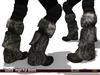 "-SKIFIJA- ""Gutsa"" High Fur Boots (Black) Lara"