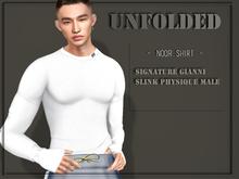 UNFOLDED / Noor Shirt  - White