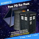 Type 70 TARDIS Forms Fat Pack