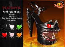 P.D - Monster Heels - FATPACK {WEAR ME}