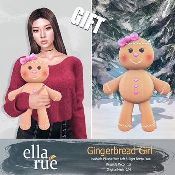 EllaRue - Gingerbread Girl *GIFT*