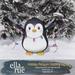 EllaRue - Holiday Penguin Holding Lights